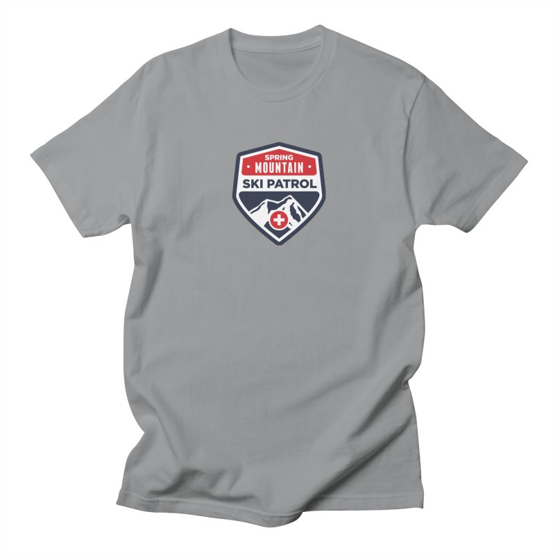 Spring Mountain Ski Patrol Men's Regular T-Shirt by Walters Media & Design