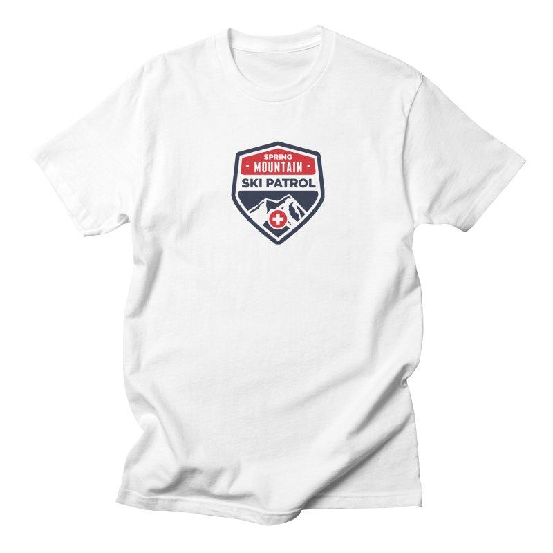 Spring Mountain Ski Patrol Women's Regular Unisex T-Shirt by Walters Media & Design