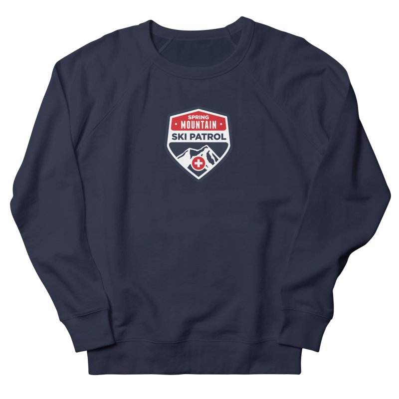 Spring Mountain Ski Patrol Men's French Terry Sweatshirt by Walters Media & Design