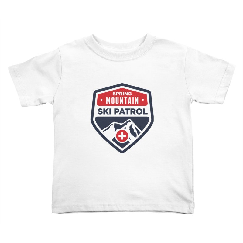 Spring Mountain Ski Patrol Kids Toddler T-Shirt by Walters Media & Design