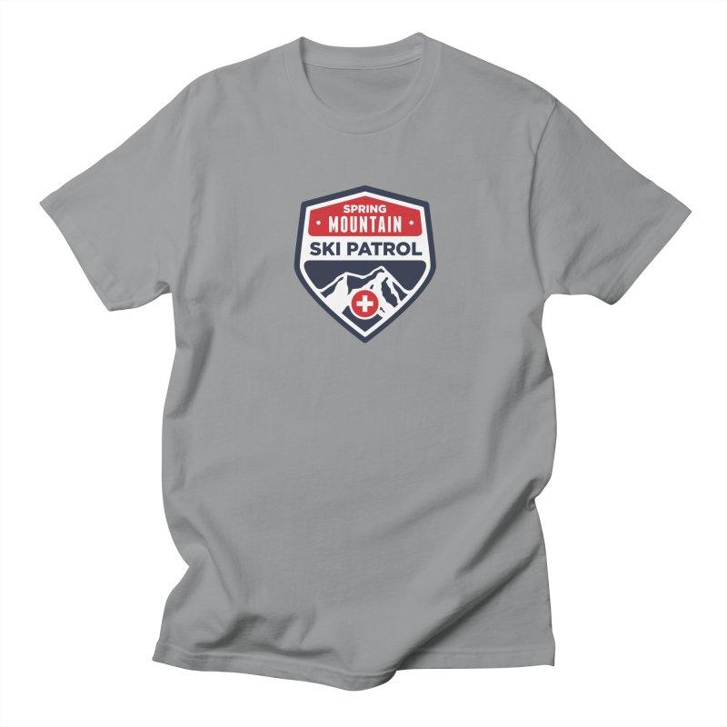 Spring Mountain Ski Patrol Men's T-Shirt by Walters Media & Design