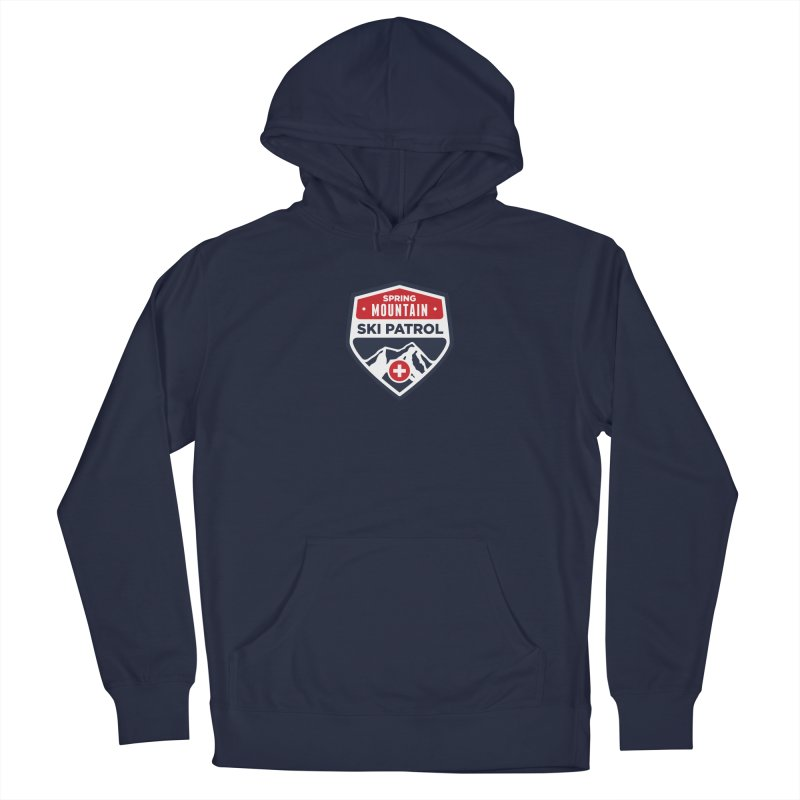 Spring Mountain Ski Patrol Men's Pullover Hoody by Walters Media & Design