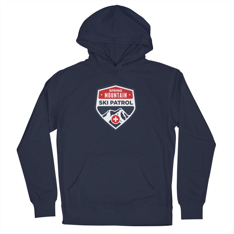 Spring Mountain Ski Patrol Men's French Terry Pullover Hoody by Walters Media & Design