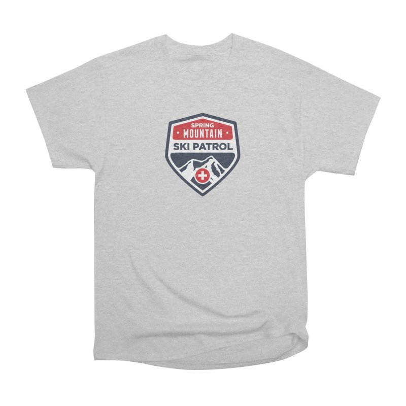 Spring Mountain Ski Patrol Men's Heavyweight T-Shirt by Walters Media & Design