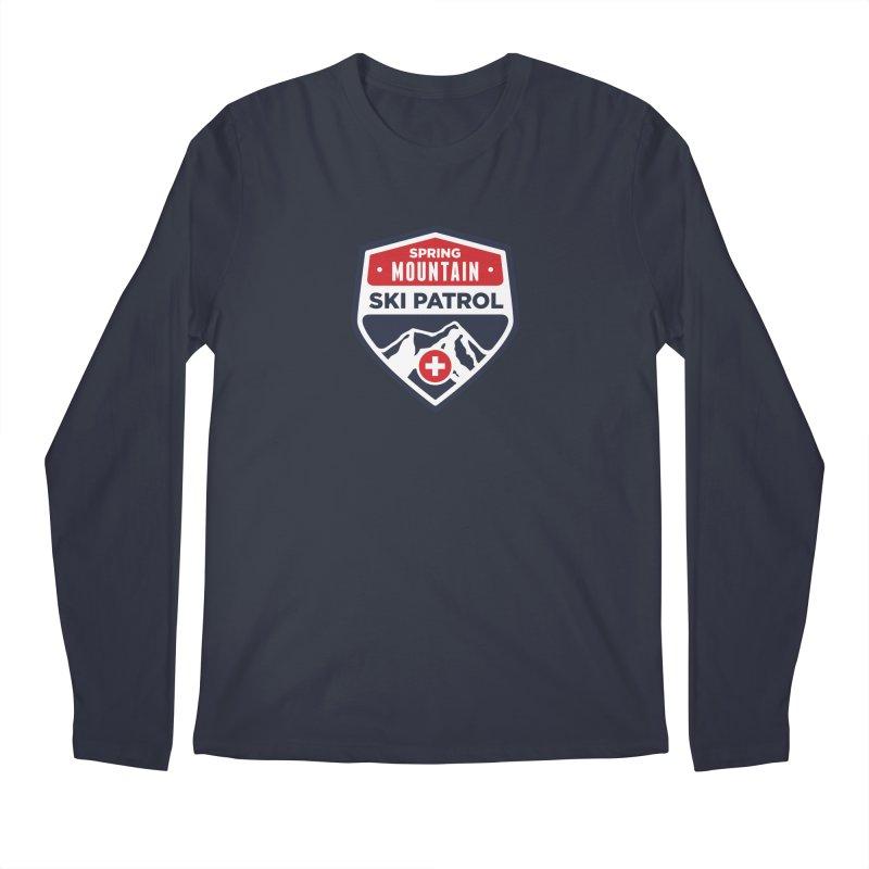 Spring Mountain Ski Patrol Men's Regular Longsleeve T-Shirt by Walters Media & Design