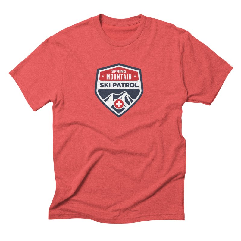 Spring Mountain Ski Patrol Men's T-Shirt by Walters Media & Design