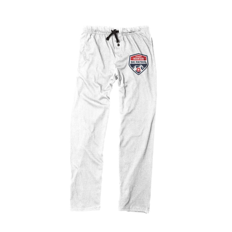 Spring Mountain Ski Patrol in Men's Lounge Pants Bottoms Black by Walters Media & Design