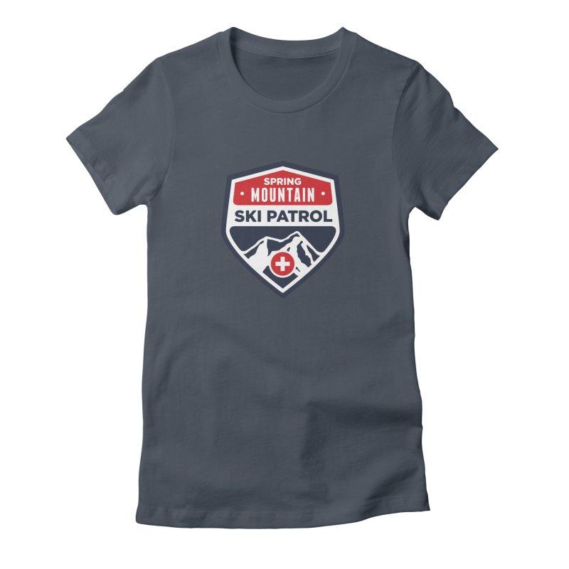 Spring Mountain Ski Patrol Women's T-Shirt by Walters Media & Design
