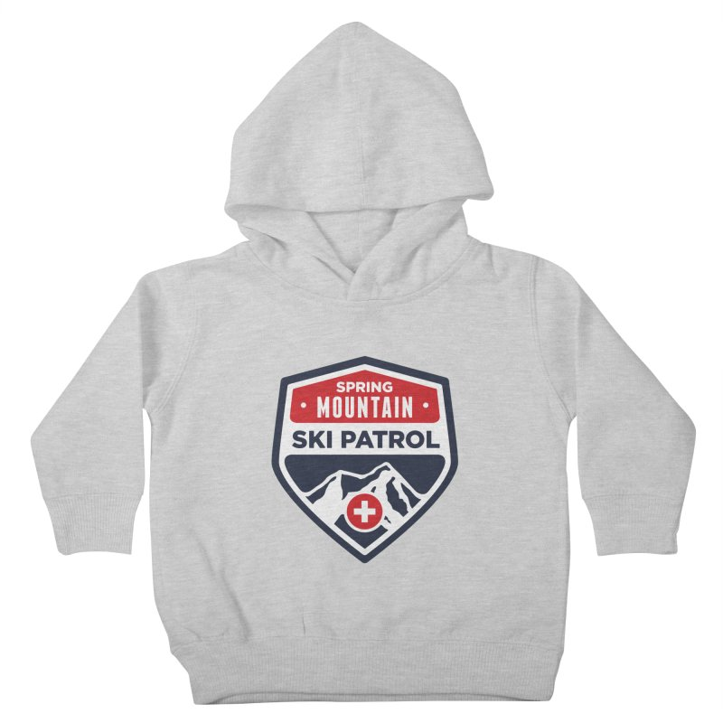 Spring Mountain Ski Patrol Kids Toddler Pullover Hoody by Walters Media & Design