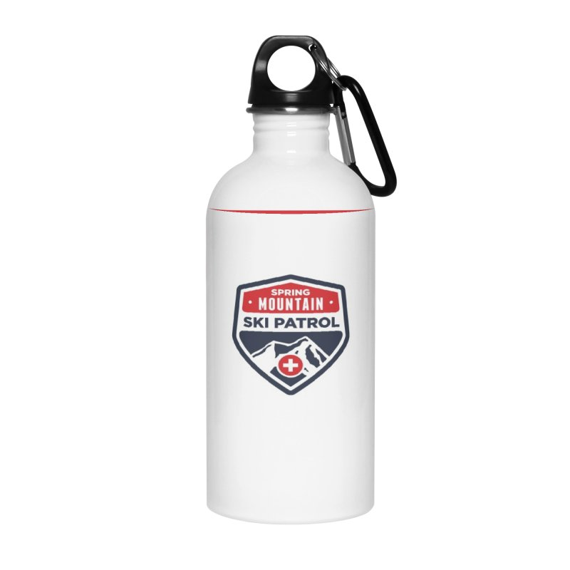 Spring Mountain Ski Patrol Accessories Water Bottle by Walters Media & Design