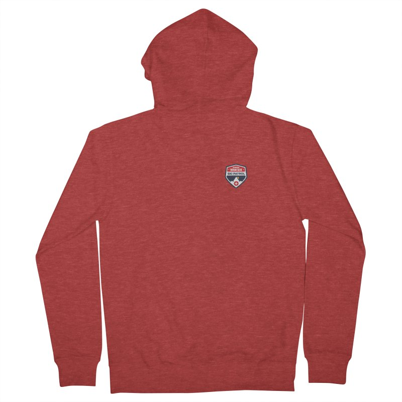 Spring Mountain Logo Small Crest Women's Zip-Up Hoody by Walters Media & Design
