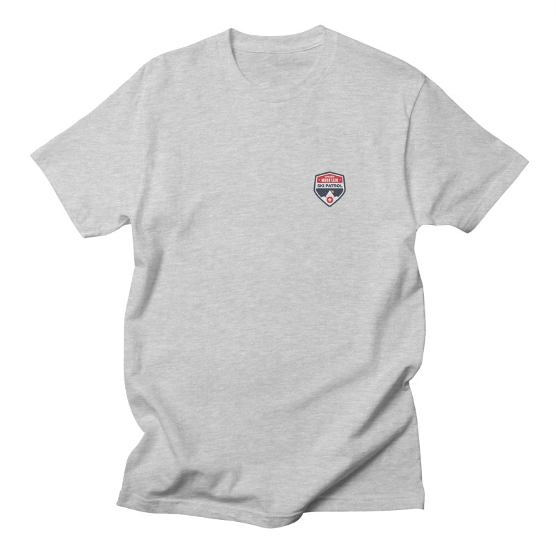 Spring Mountain Logo Small Crest Men's T-shirt by Walters Media & Design