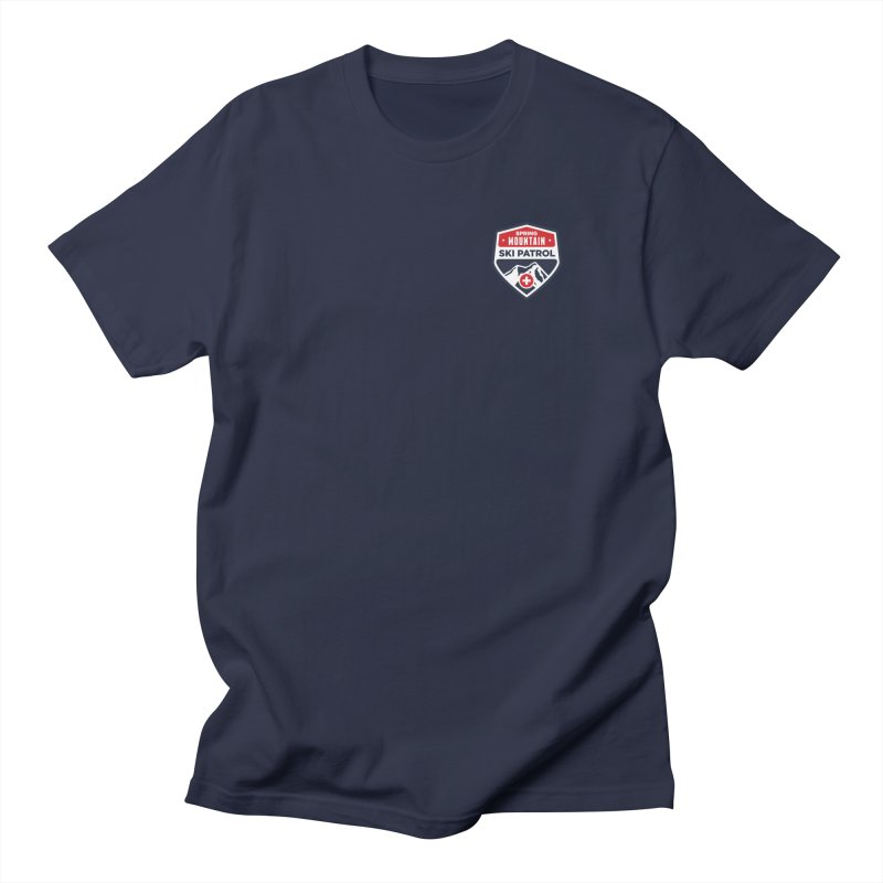 Spring Mountain Logo Small Crest Women's Regular Unisex T-Shirt by Walters Media & Design