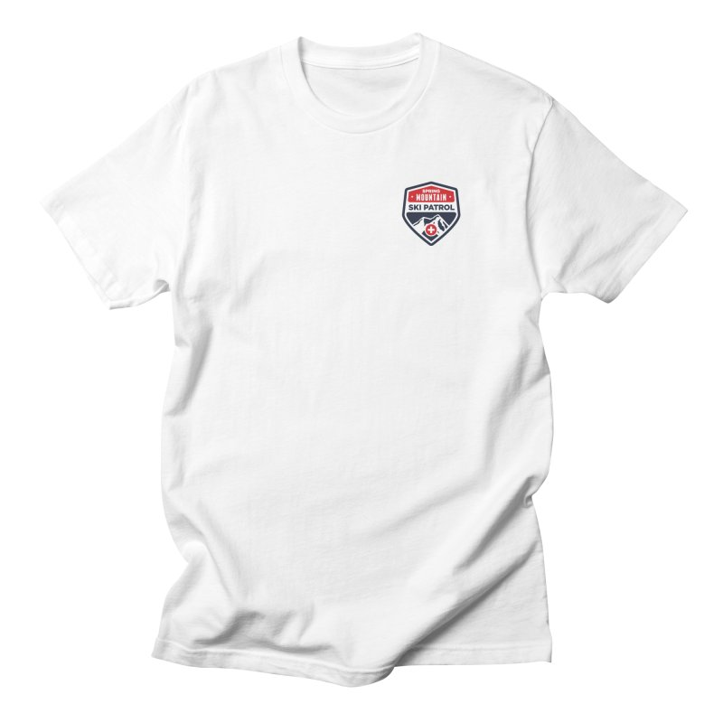Spring Mountain Logo Small Crest Men's Regular T-Shirt by Walters Media & Design