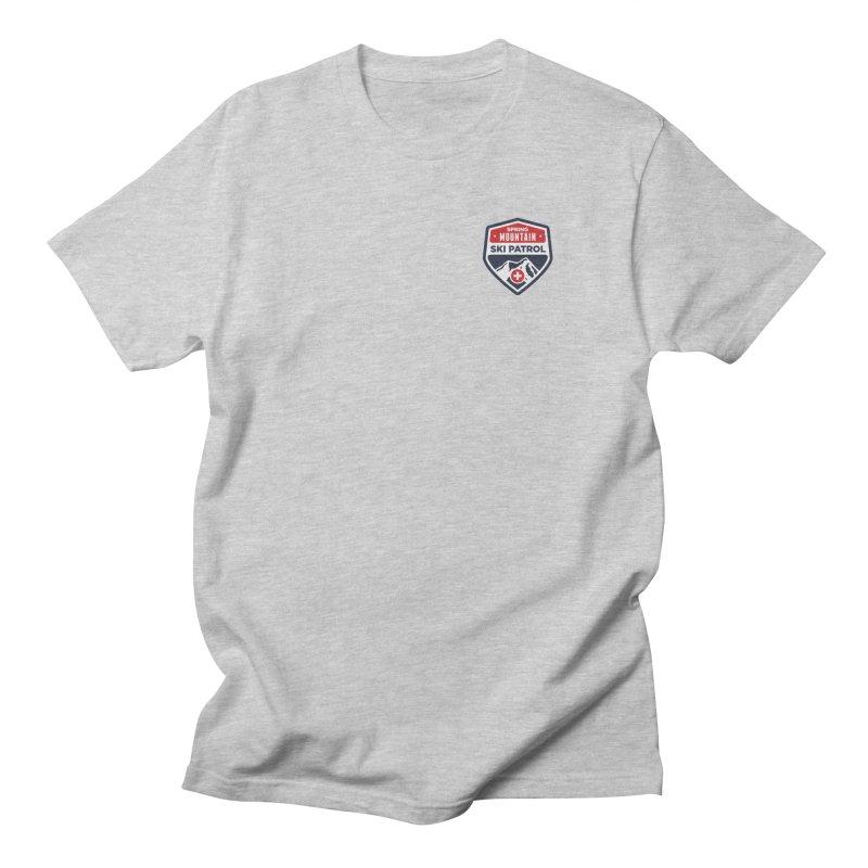 Spring Mountain Logo Small Crest Men's Regular T-Shirt by Walters Media & Design
