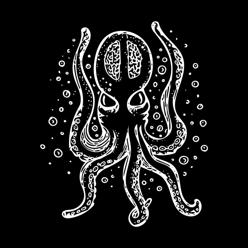 Kraken Men's T-Shirt by Walters Media & Design