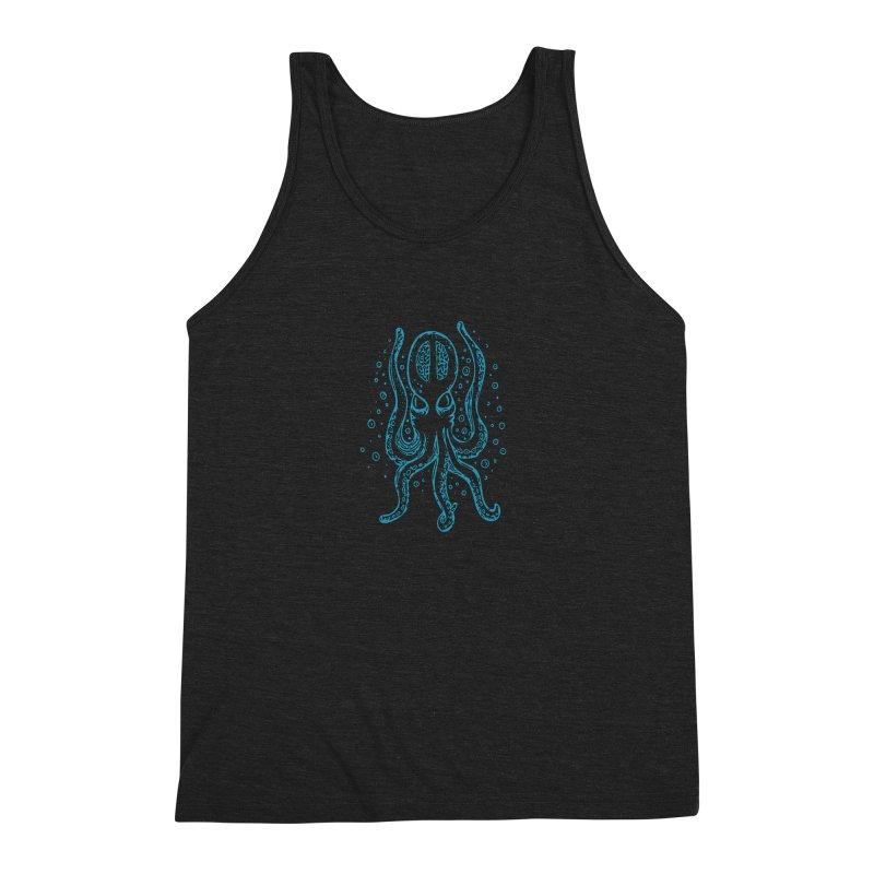 Kraken aqua Men's Tank by Walters Media & Design