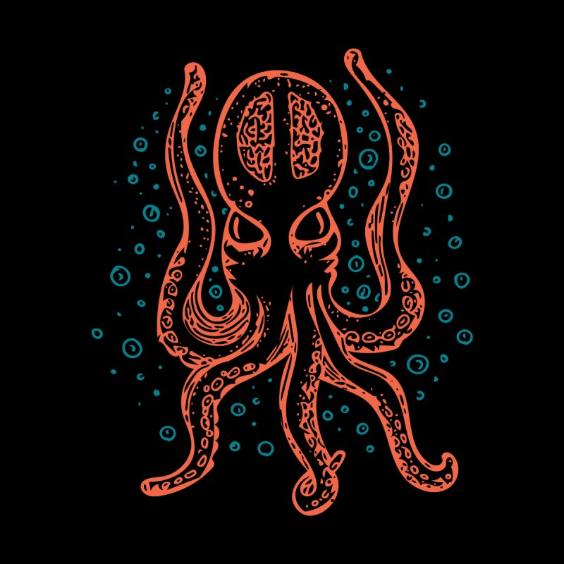 Kraken Teel and Orange by Walters Media & Design