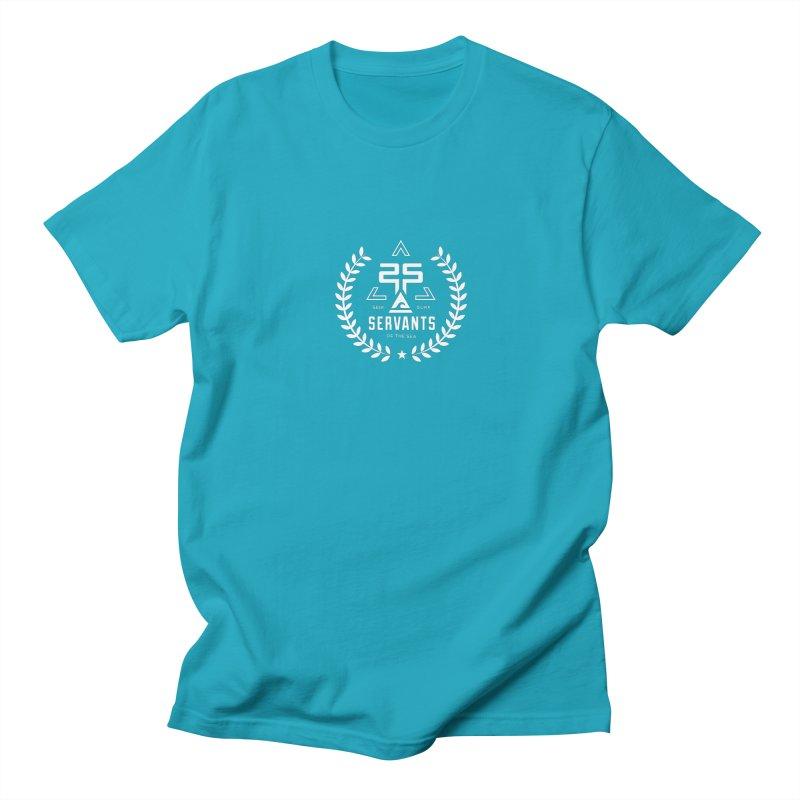 Servants of the Sea White Men's Regular T-Shirt by Walters Media & Design