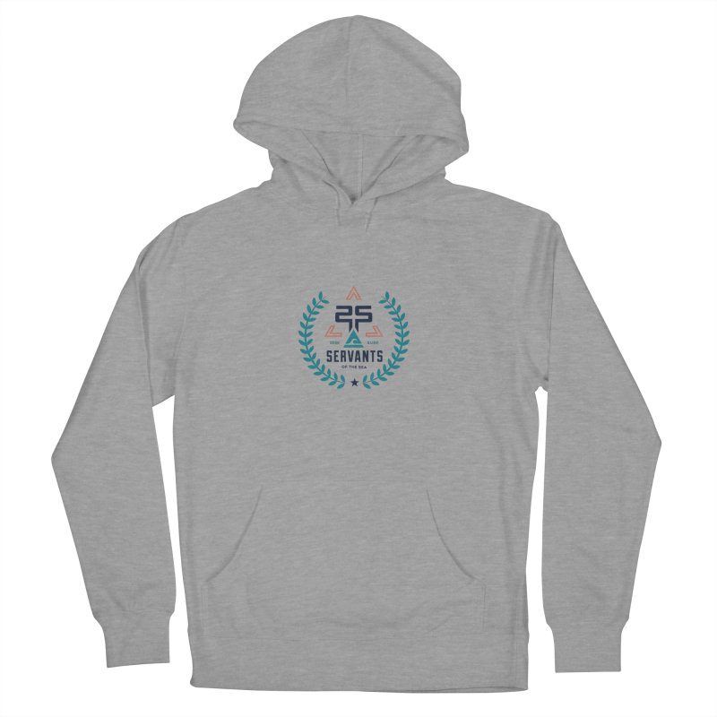 Servants of the Sea Color Men's French Terry Pullover Hoody by Walters Media & Design