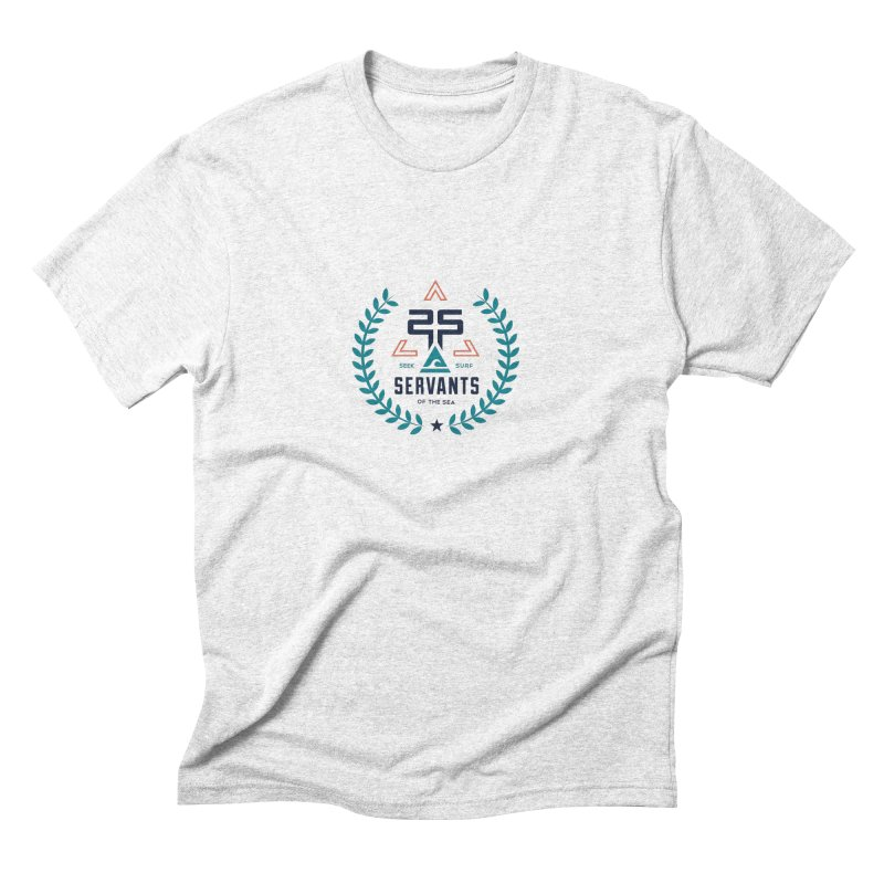 Servants of the Sea Color Men's Triblend T-shirt by Walters Media & Design
