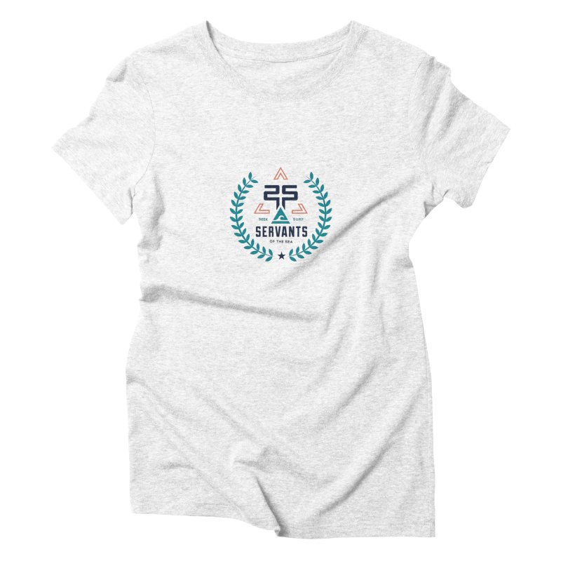 Servants of the Sea Color Women's Triblend T-shirt by Walters Media & Design