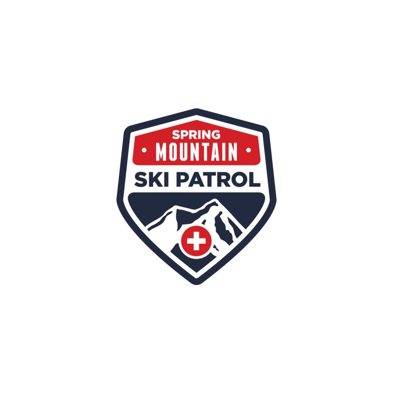 Spring Mountain Ski Patrol Classic Tee by Walters Media & Design