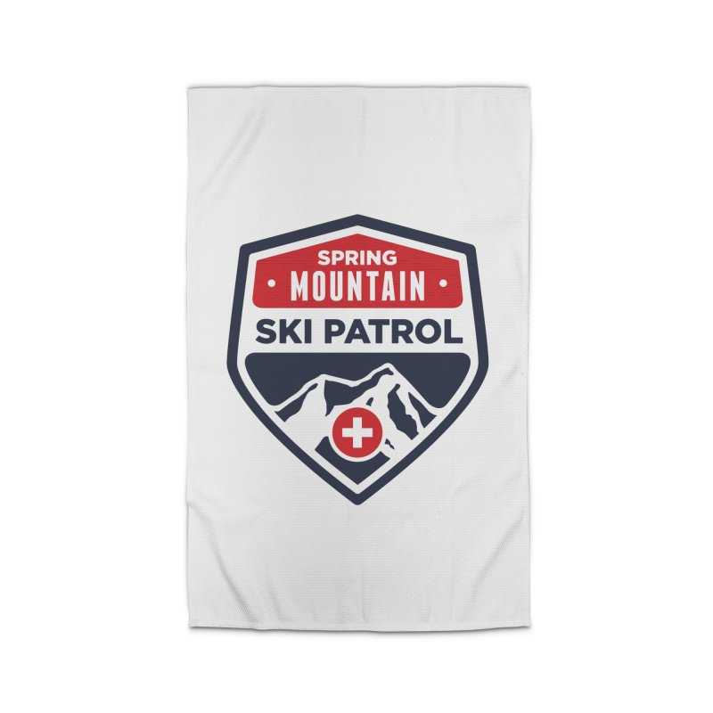 Spring Mountain Ski Patrol Classic Logo Home Rug by Walters Media & Design