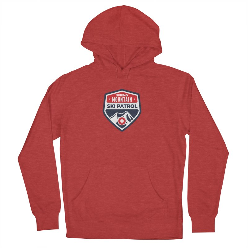 Spring Mountain Ski Patrol Classic Tee Women's Pullover Hoody by Walters Media & Design