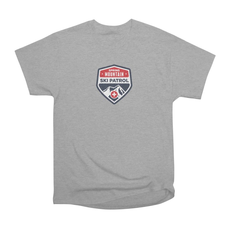 Spring Mountain Ski Patrol Classic Tee Men's Classic T-Shirt by Walters Media & Design