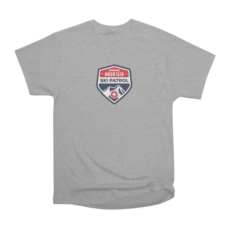 Spring Mountain Ski Patrol Classic Tee Women's Heavyweight Unisex T-Shirt by Walters Media & Design