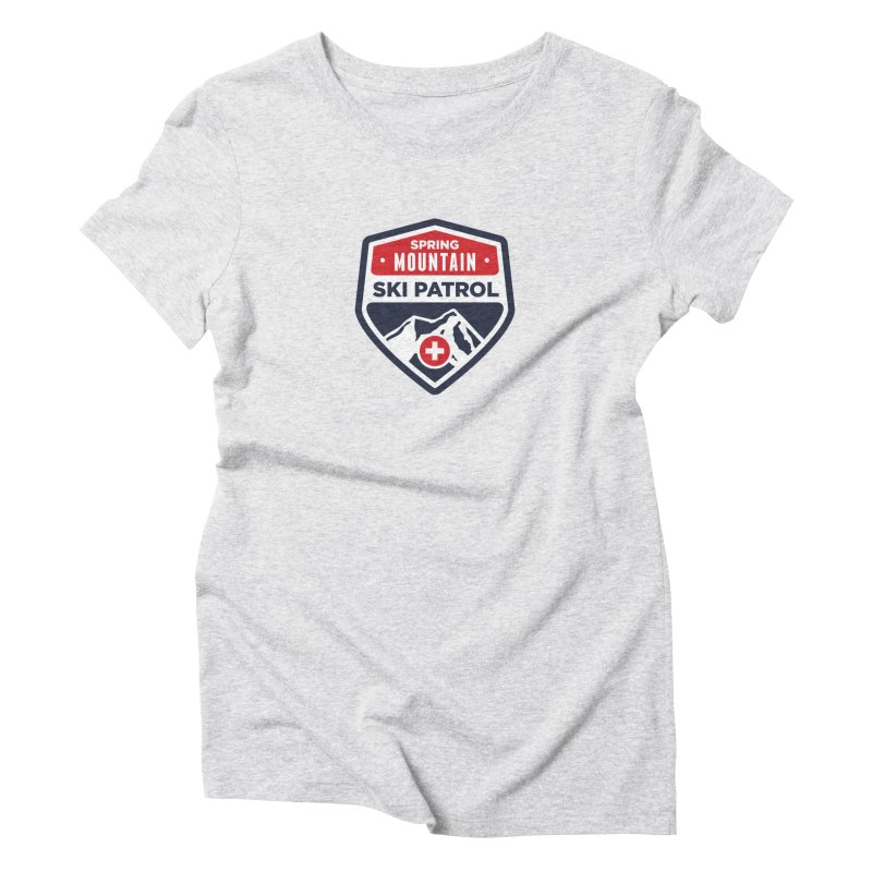 Spring Mountain Ski Patrol Classic Tee Women's Triblend T-Shirt by Walters Media & Design