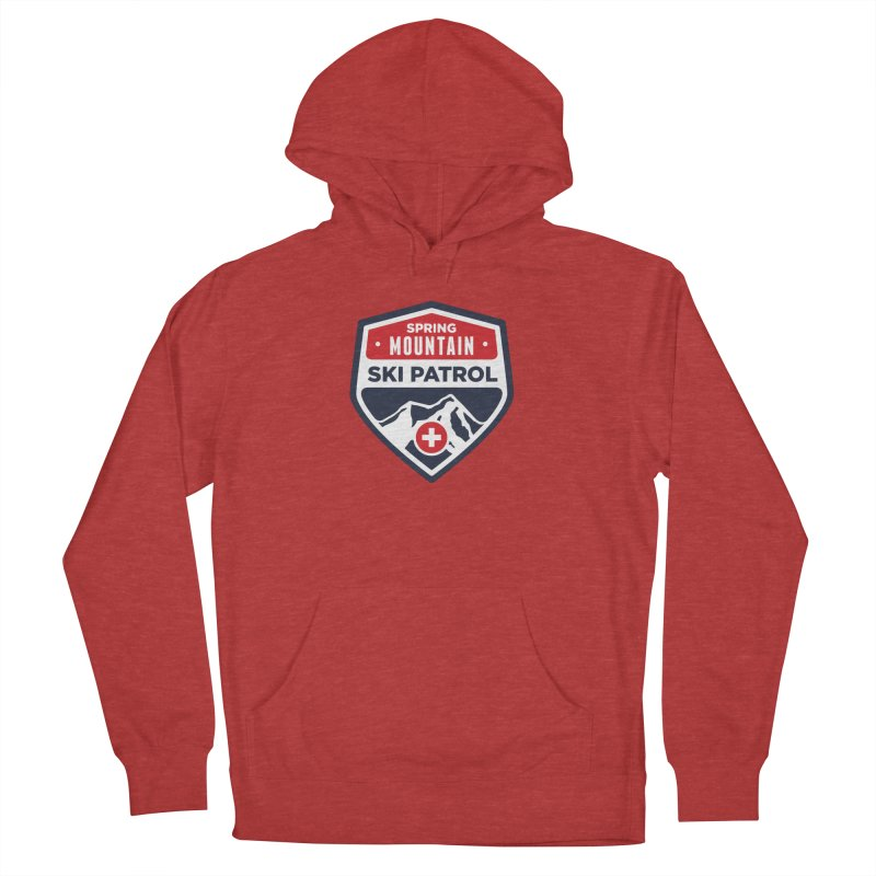 Spring Mountain Ski Patrol Classic Tee Women's French Terry Pullover Hoody by Walters Media & Design
