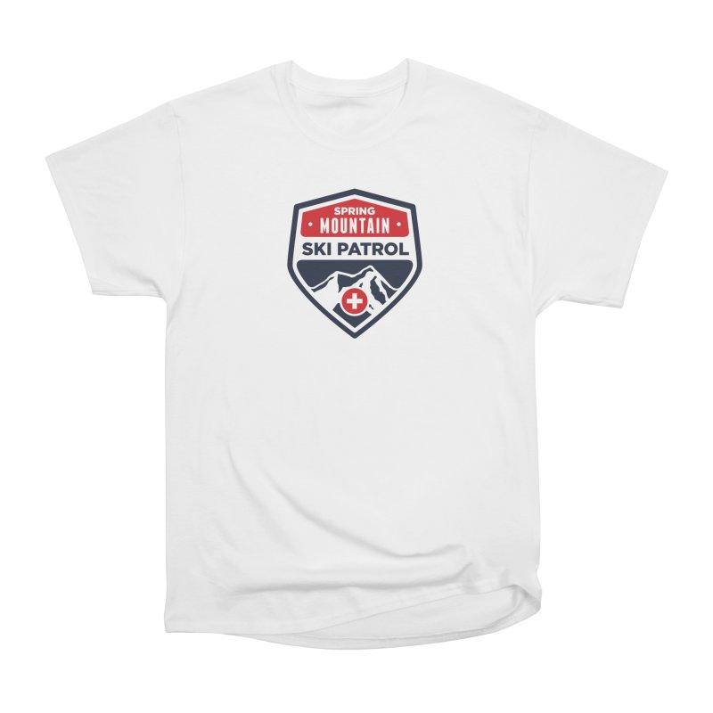 Spring Mountain Ski Patrol Classic Tee Men's Heavyweight T-Shirt by Walters Media & Design