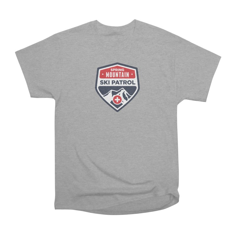 Spring Mountain Ski Patrol Classic Tee Women's Heavyweight Unisex T-Shirt by Walters Media & Design