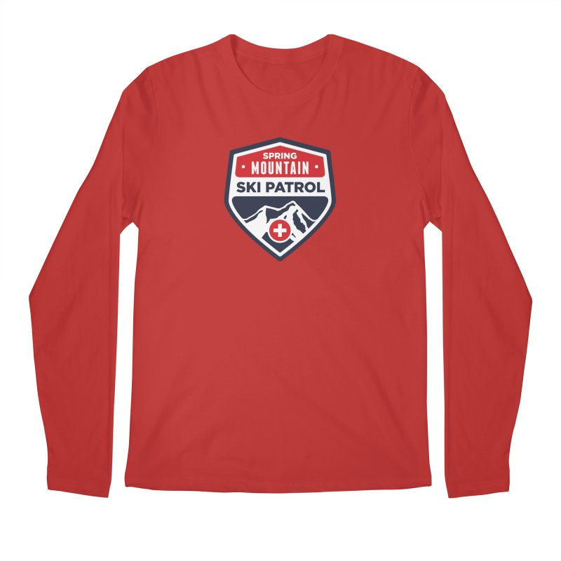 Spring Mountain Ski Patrol Classic Tee Men's Regular Longsleeve T-Shirt by Walters Media & Design