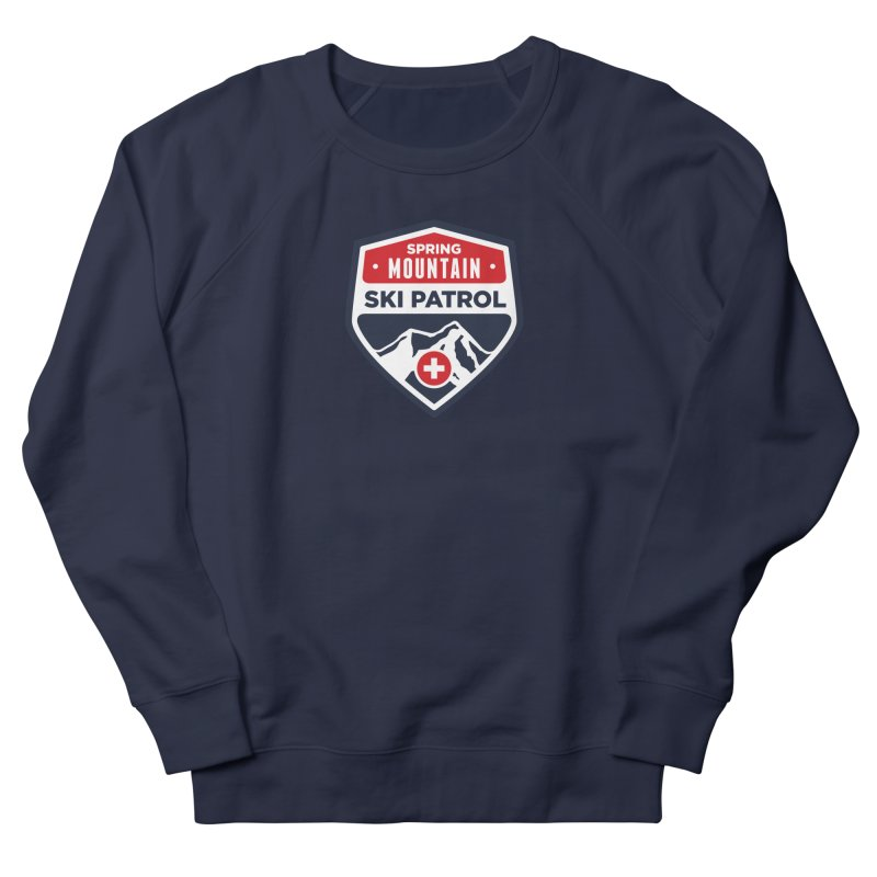 Spring Mountain Ski Patrol Classic Tee Men's French Terry Sweatshirt by Walters Media & Design