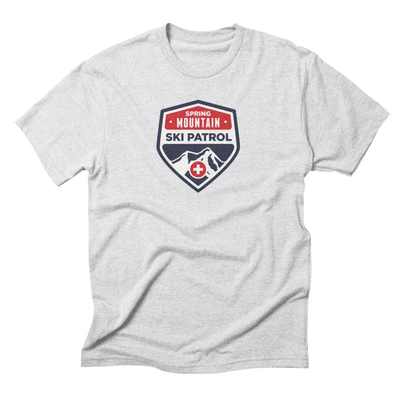Spring Mountain Ski Patrol Classic Tee Men's Triblend T-Shirt by Walters Media & Design