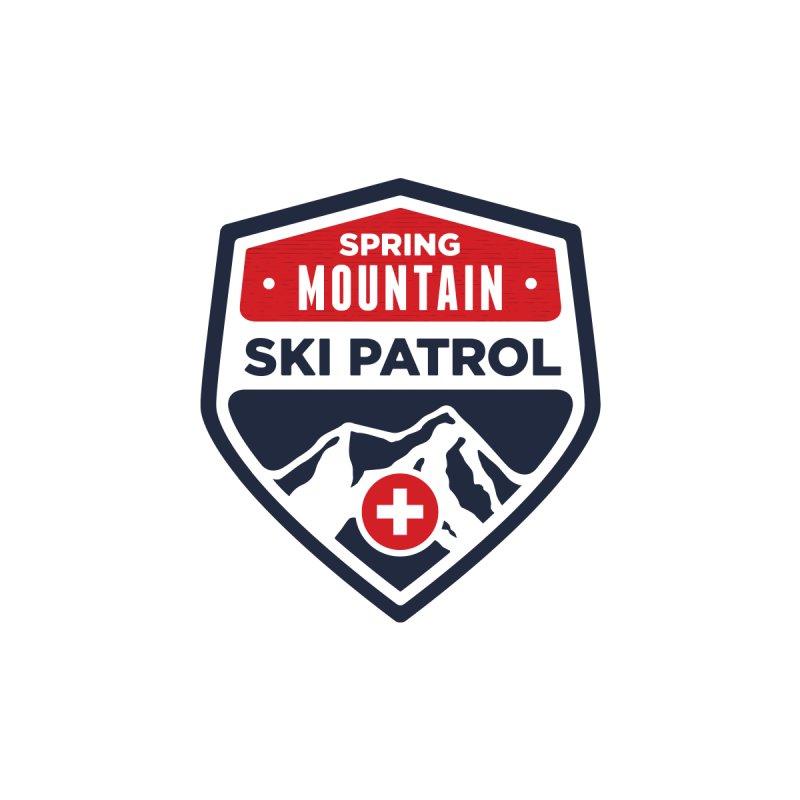 Spring Mountain Ski Patrol Classic Logo Men's Longsleeve T-Shirt by Walters Media & Design