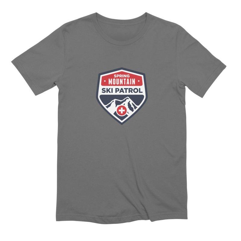 Spring Mountain Ski Patrol Classic Logo Men's T-Shirt by Walters Media & Design
