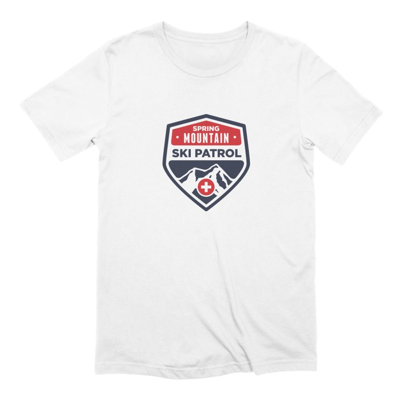 Spring Mountain Ski Patrol Classic Logo Men's Extra Soft T-Shirt by Walters Media & Design