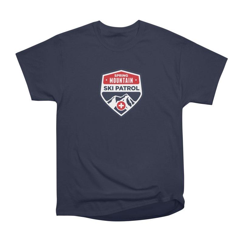 Spring Mountain Ski Patrol Classic Logo Women's Heavyweight Unisex T-Shirt by Walters Media & Design