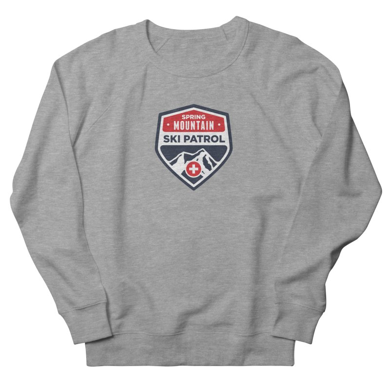 Spring Mountain Ski Patrol Classic Logo Women's French Terry Sweatshirt by Walters Media & Design