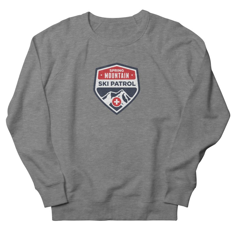 Spring Mountain Ski Patrol Classic Logo Men's French Terry Sweatshirt by Walters Media & Design