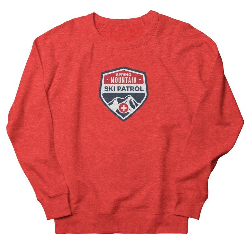 Spring Mountain Ski Patrol Classic Logo Men's Sweatshirt by Walters Media & Design