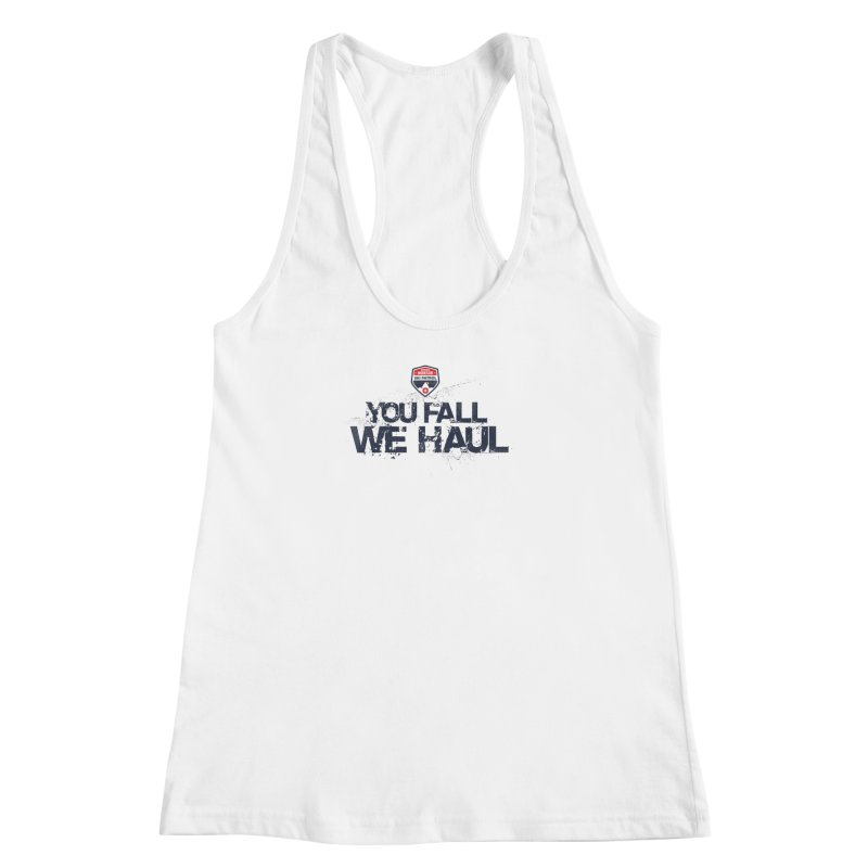 SMSP - You Fall We Haul Women's Racerback Tank by Walters Media & Design