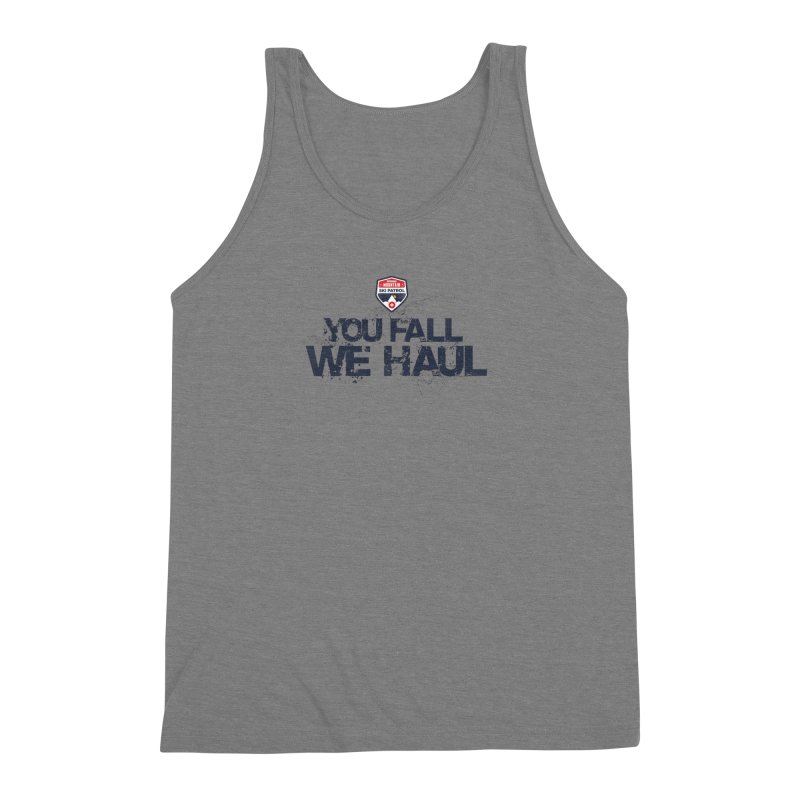 SMSP - You Fall We Haul Men's Triblend Tank by Walters Media & Design