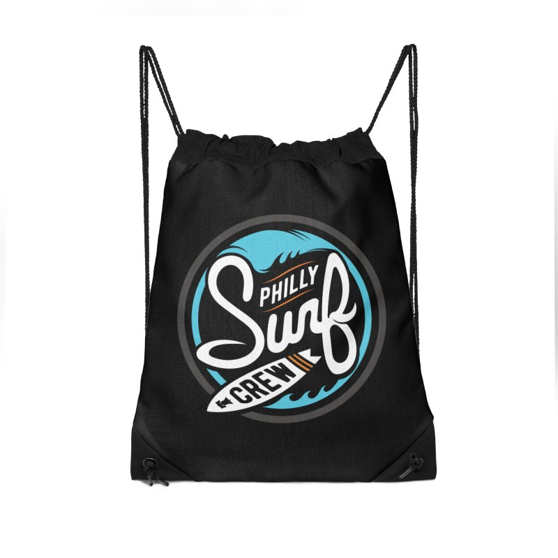 PSC-FullMoon Accessories Drawstring Bag Bag by Walters Media & Design