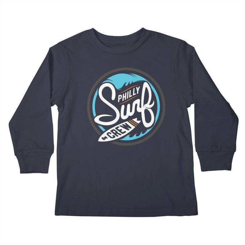 PSC-FullMoon Kids Longsleeve T-Shirt by Walters Media & Design