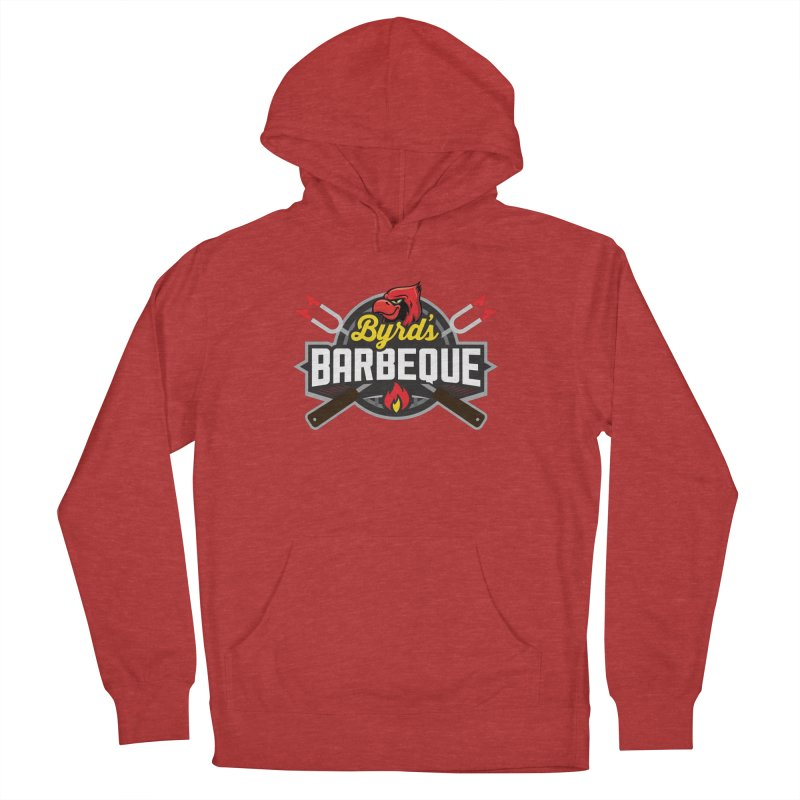 Byrds BBQ Men's Pullover Hoody by Walters Media & Design